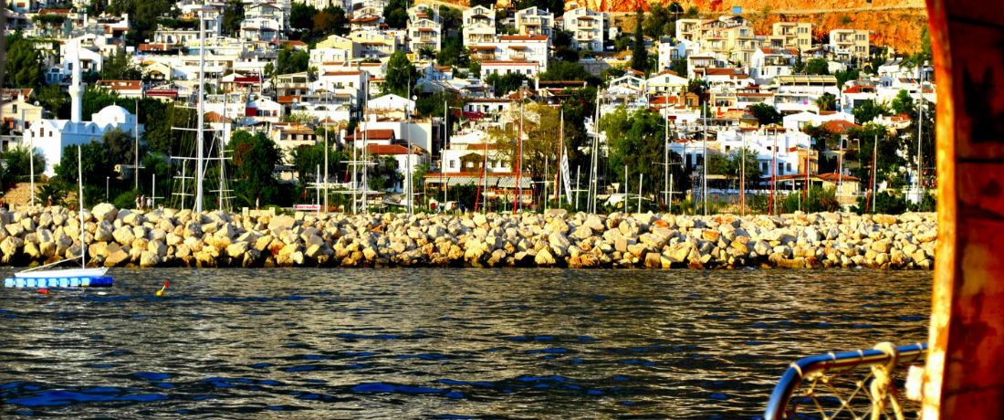 Kalkan harbour